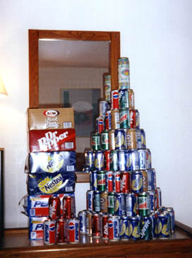 The infamous Florida Tower of Cans